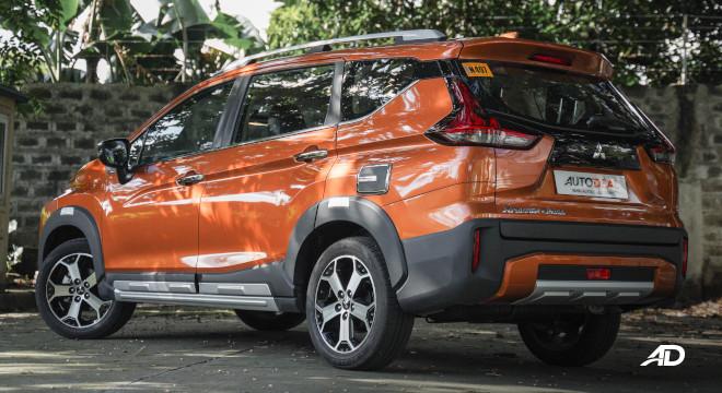 Xpander Cross Philippines Rear quarter