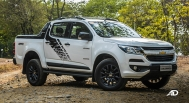 chevrolet colorado high country storm road test exterior front philippines