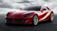 Ferrari 812 Superfast 2018 red
