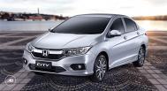 Honda City 2018 silver