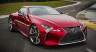 Lexus LC 2018 front