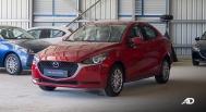 Mazda2 sedan launch philippines exterior front quarter