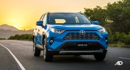 toyota rav4 road test review front quarter exterior philippines