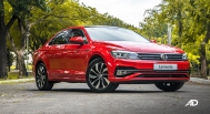 volkswagen lamando review road test front quarter exterior philippines