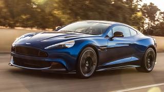 2018 Aston Martin Vanquish S front