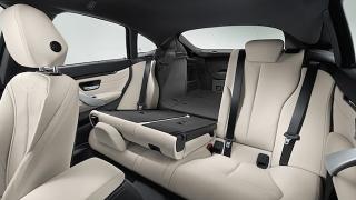 2018 BMW 4-Series Gran Coupe rear seats