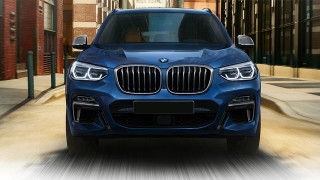 2018 BMW X3 front