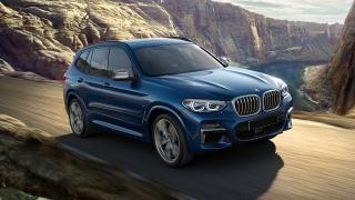 2018 BMW X3 road