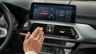 2018 BMW X3 stereo