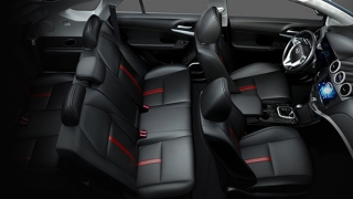 2018 BYD S7 interior seats