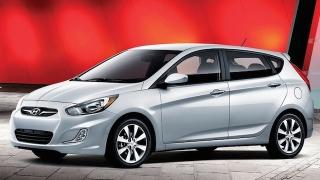 2018 Hyundai Accent Hatchback front