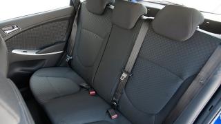 2018 Hyundai Accent Hatchback rear seats
