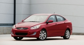 2018 Hyundai Accent Sedan front