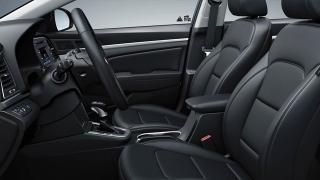 2018 Hyundai Elantra cabin