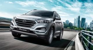 2018 Hyundai Tucson front