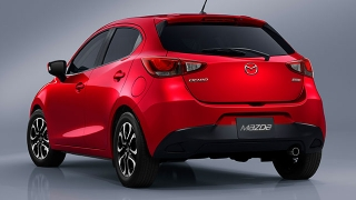 2018 Mazda 2 Hatchback rear