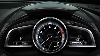 2018 Mazda 2 Sedan gauge cluster