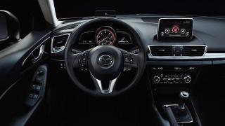 2018 Mazda 3 Hatchback dashboard