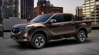2018 Mazda BT-50 side