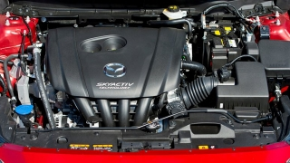 2018 Mazda CX-3 SkyActiv engine
