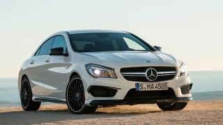 2018 Mercedes-Benz CLA-Class front
