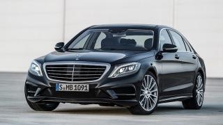 2018 Mercedes-Benz S-Class front