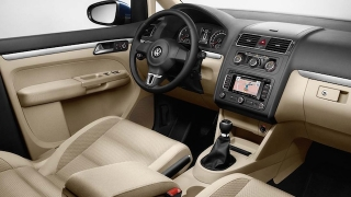 2018 Volkswagen Touran dashboard