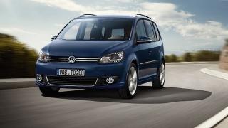 2018 Volkswagen Touran front