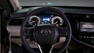 2019 Toyota Camry steering wheel