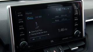 2019 Toyota RAV4 head unit