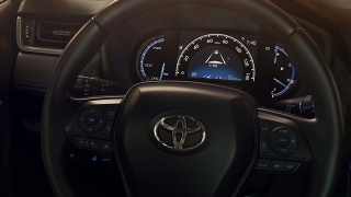2019 Toyota RAV4 instrument cluster