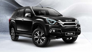 2020 Isuzu mu-x exterior press photo