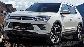 2020 Ssangyong Korando Press Photo