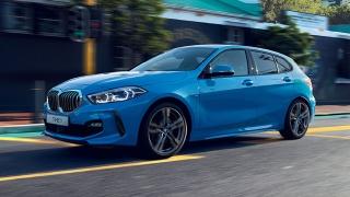 2021 BMW 1-Series Hatchback exterior quarter front Philippines
