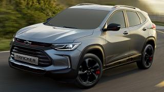 2021 Chevrolet Tracker exterior quarter front Philippines