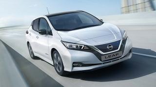 2021 Nissan LEAF exterior quarter front Philippines