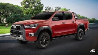 2021 Toyota Hilux exterior quarter front Philippines