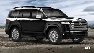 2022 Toyota Land Cruiser exterior side Philippine