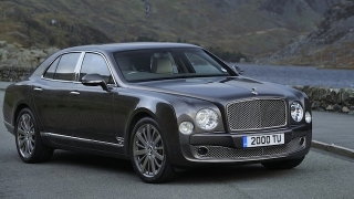 Bentley Mulsanne 2018 front