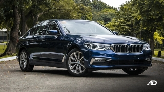 BMW 5 series 520i Luxury front quarter exterior philippines