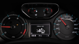 Chevrolet Colorado 2018 instrument cluster
