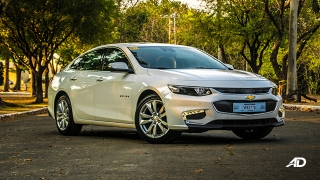 chevrolet malibu review road test front quarter exterior philippines