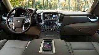 Chevrolet Suburban 2018 interior