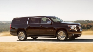 Chevrolet Suburban 2018 side view