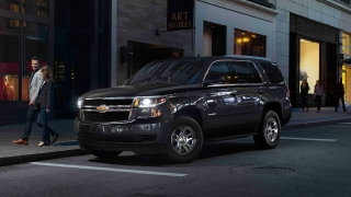 Chevrolet Tahoe Philippines Black Exterior Front Quarter