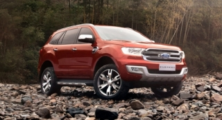 Ford Everest 2018 front