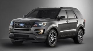 Ford Explorer 2018 front