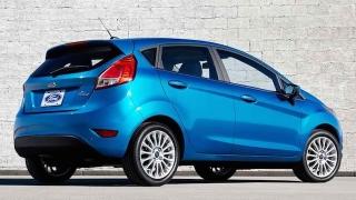 Ford Fiesta Hatchback 2018 rear