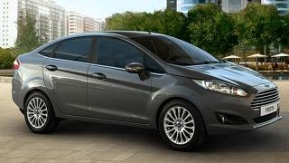 Ford Fiesta Sedan 2018 front