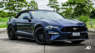 ford mustang review road test front quarter exterior philippines